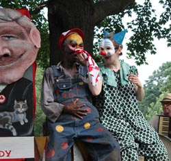 """Clay and Paper Theatre present """"Day of Delight"""" - Photo by Sarah Miller-Garvin"""